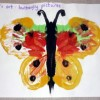 Read more about the article Easy painting for babies- butterfly painting