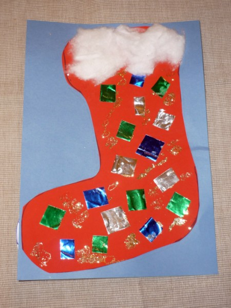 stocking craft ideas occassion archives amp craft for babies 3009
