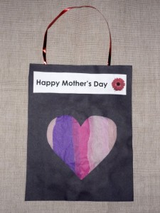 Read more about the article Mother's day stained glass window