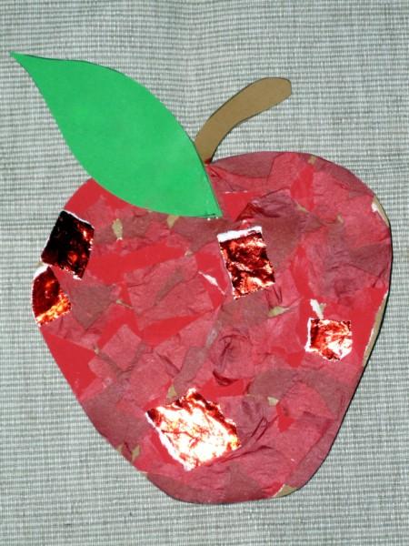 Autumn Apple Collage