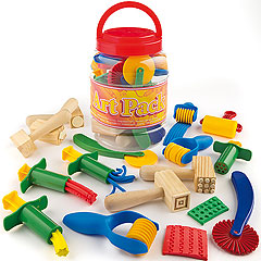 Shape & Play Dough Designer Kit at Lakeshore Learning