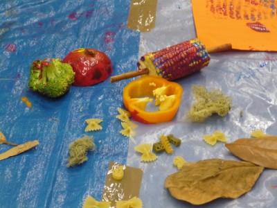 vegetable-printing