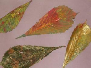 Autumn-leaf-painting