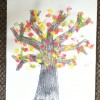 Read more about the article Autumn tree finger print painting