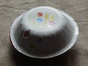 Make a paper bowl flying saucer
