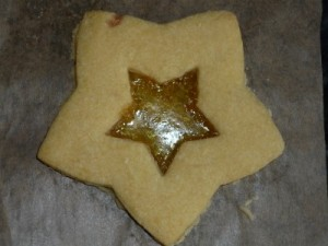 stained glass biscuit