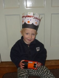snowman hat easy art idea for toddler