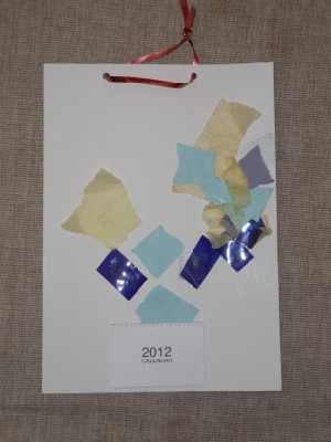 You are currently viewing Homemade collage calendar