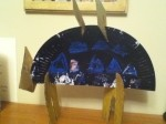 Paper plate dinosaur- model making with young children