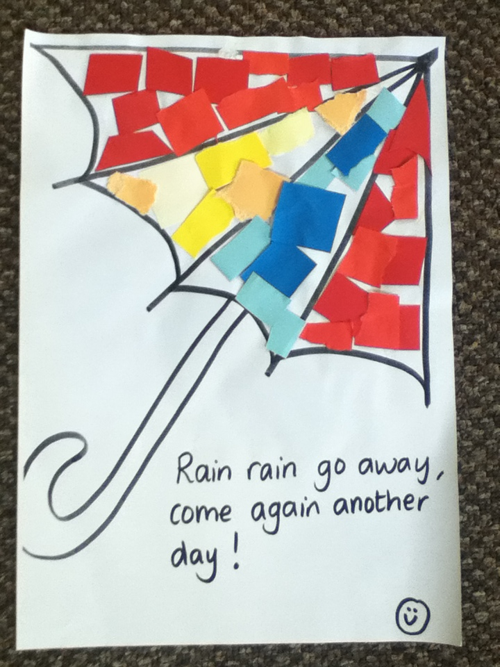 weather collage- great come rain or shine